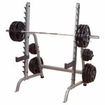 Body Solid GPR370 MULTI PRESS RACK (WITH SAFETIES AND HORNS) 50MM