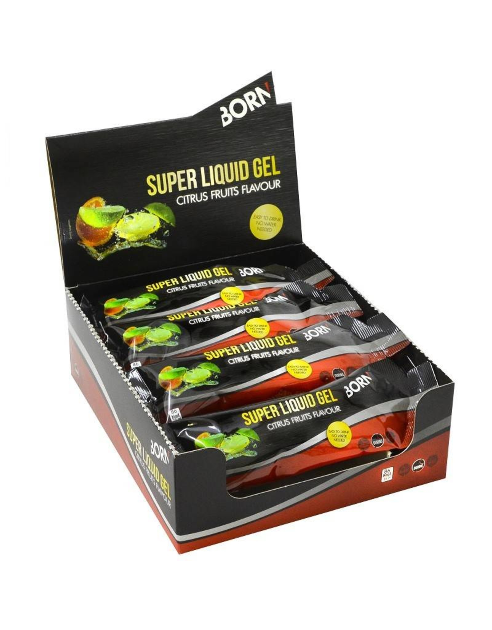 Super liquid gel citrus fruits flavour 55 ml (1 stuks)