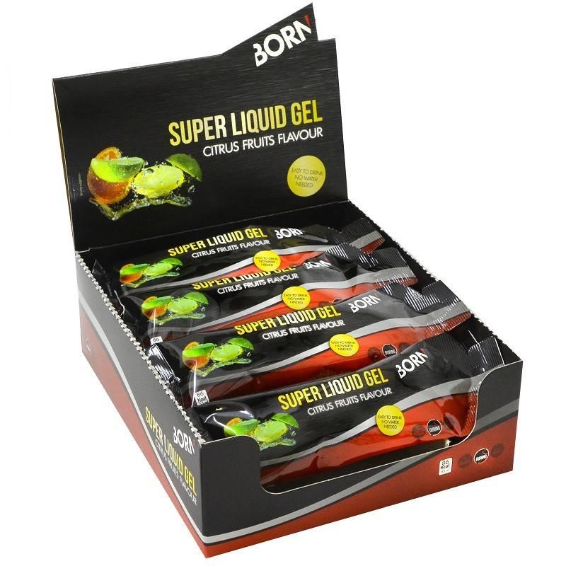 Super liquid gel citrus fruits flavour 55 ml (1 stuks)-2