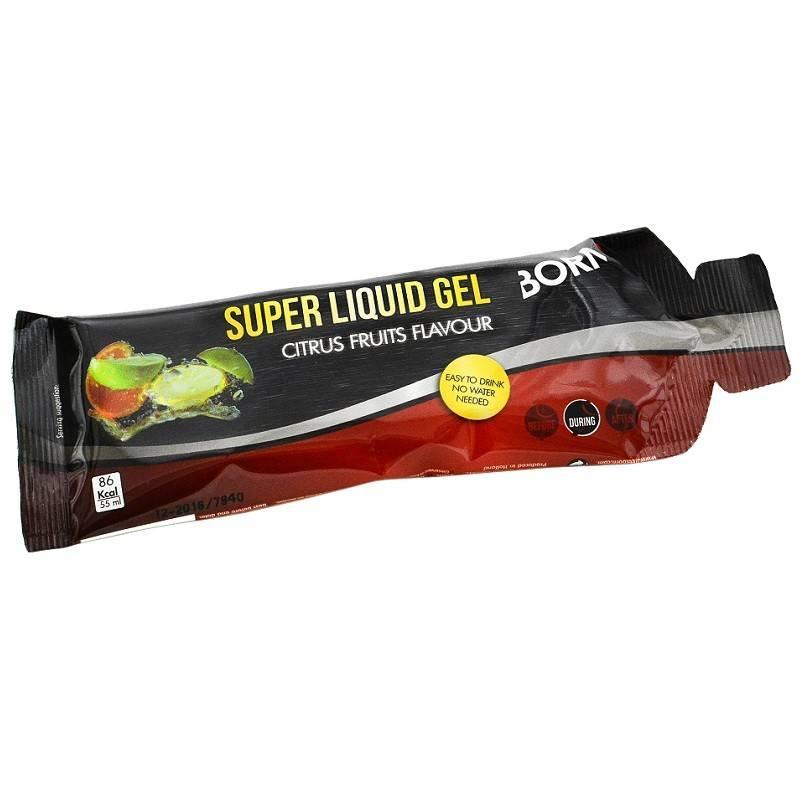 Super liquid gel citrus fruits flavour 55 ml (1 stuks)-1