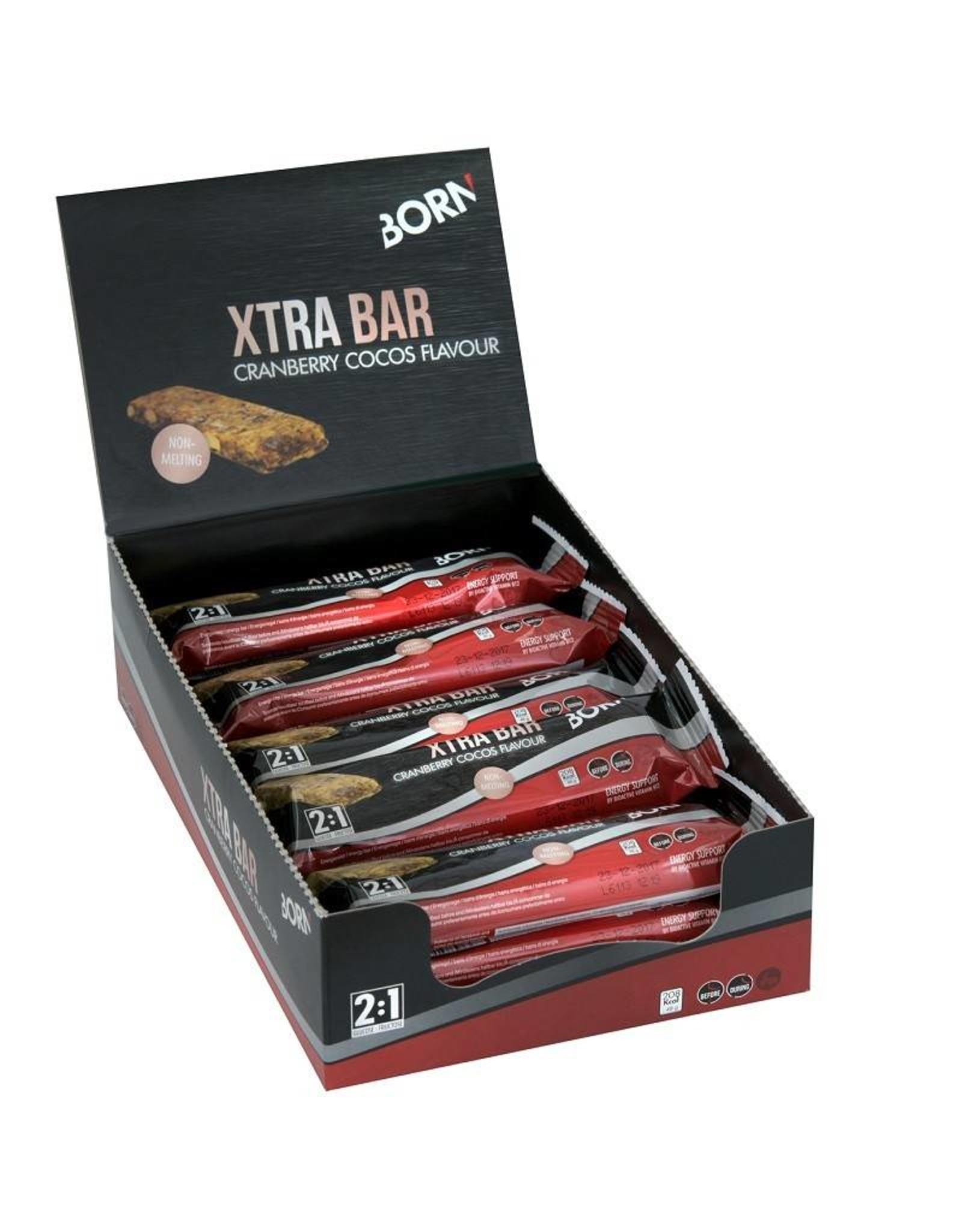 Xtra bar Cranberry Cocos flavour (1 stuks)
