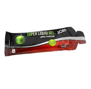 Born Sportscare Super liquid gel apple flavour 55 gram (1 stuk)
