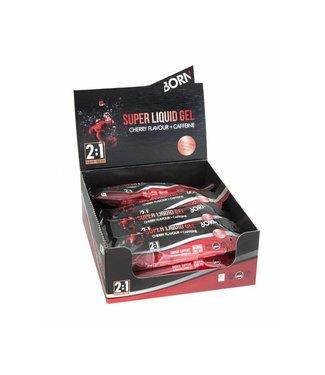 Born Sportscare Super liquid gel cherry  (1 doos, 12 stuks)
