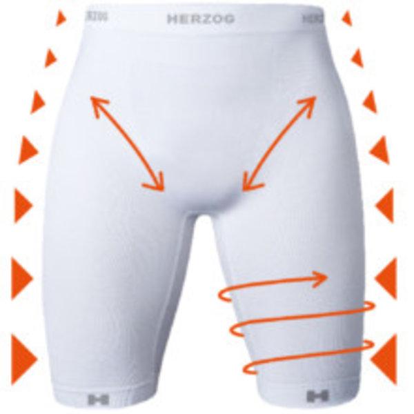 Herzog Medical Herzog Pro Compression Shorts Zwart