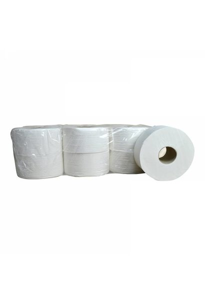 Toiletpapier Mini Jumbo - 12 rollen, 180m, 2 laags