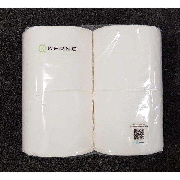 Kerno Clean Toiletpapier (10 x 4 rollen),400 vel per rol
