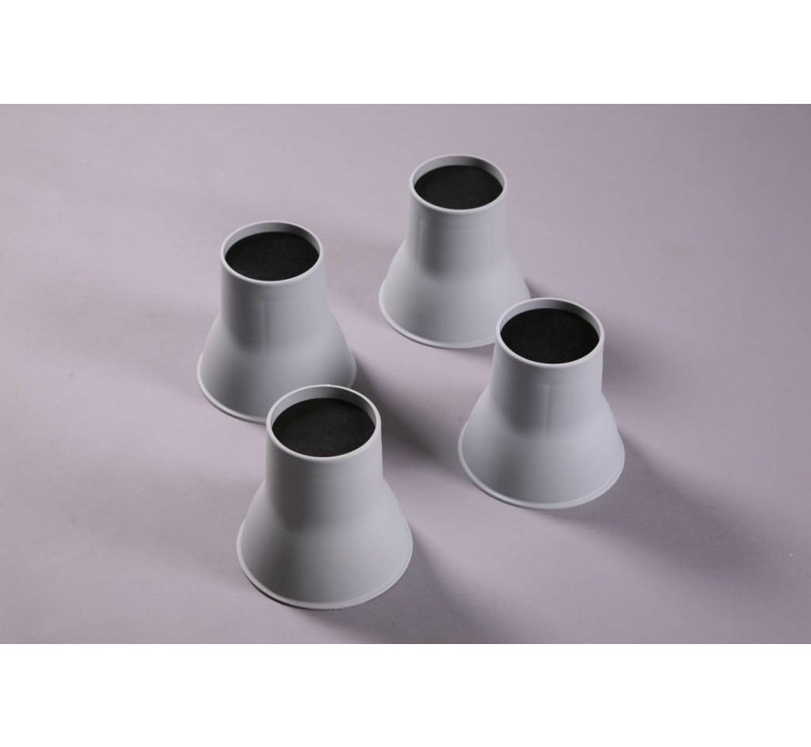 Olifant poten bed- en stoelverhogers - 14 cm