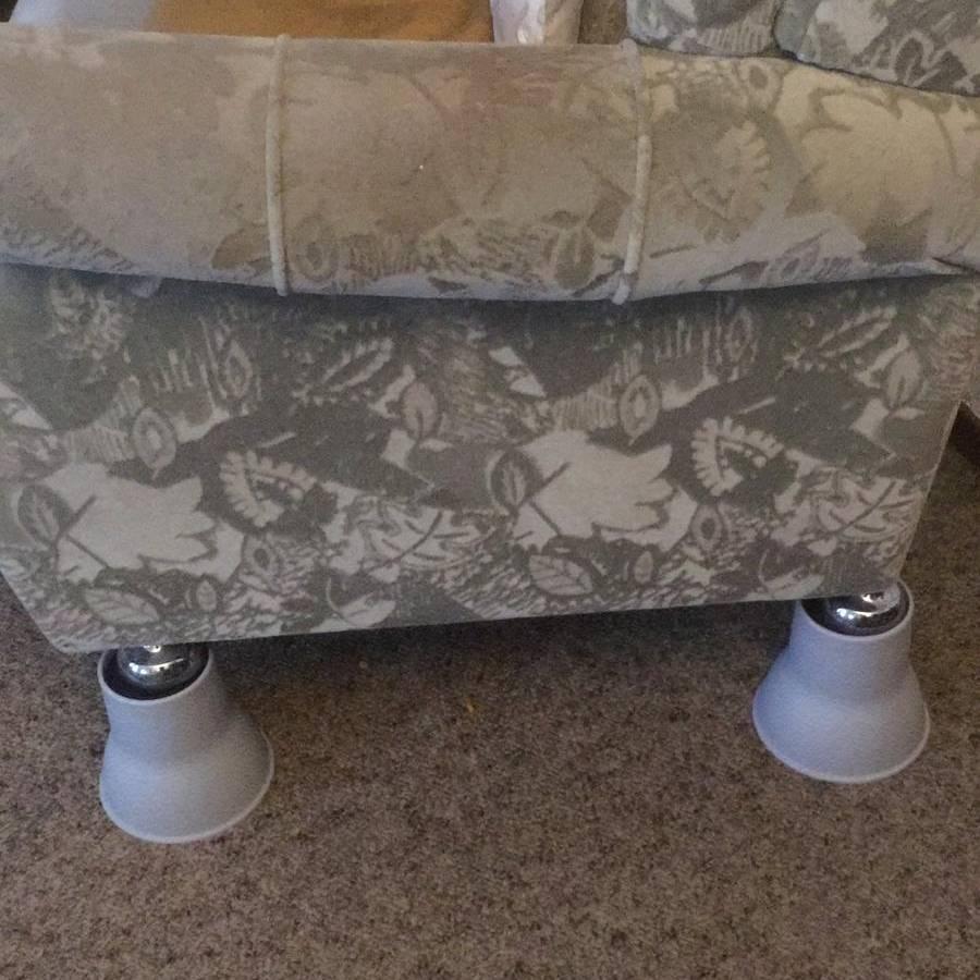 Olifant poten bed- en stoelverhogers - 14 cm-2