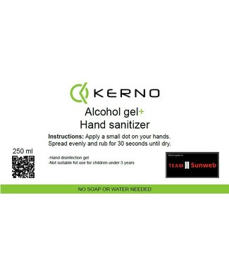 Kerno Clean Alcohol gel dispenser 250ml