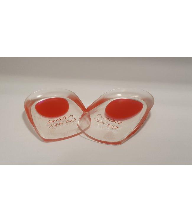 Halve Gel hakjes/zooltjes met softspot (rood)