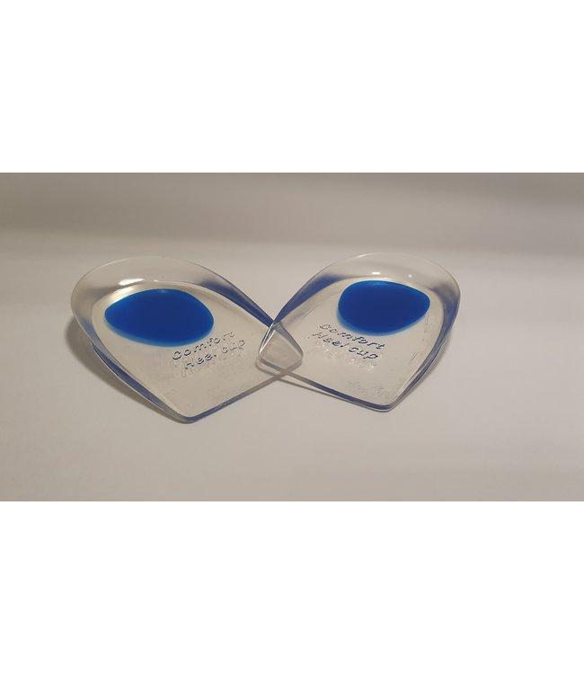 Halve Gel hakjes/zooltjes met softspot (blauw)