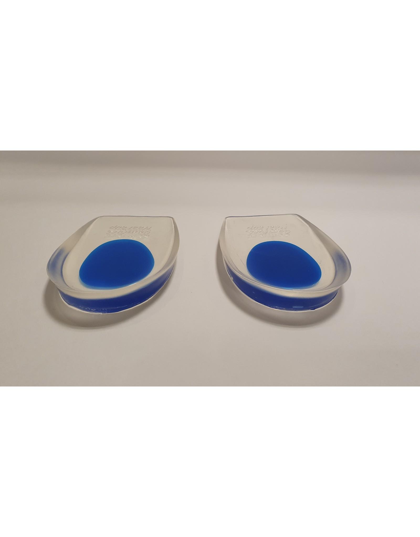 Halve Gel hakjes/zooltjes met softspot blauw (breed)