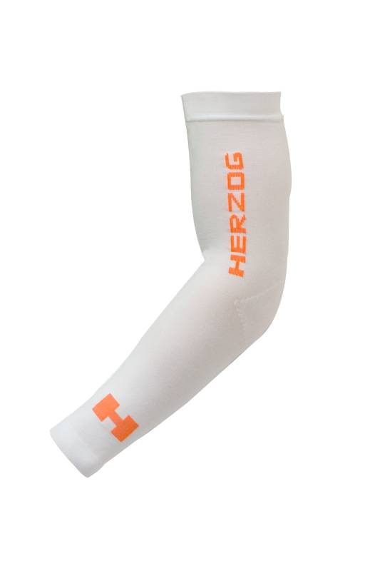 Herzog Pro Compression Armsleeves Wit-1