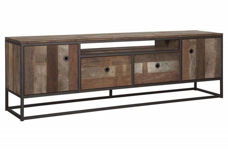 D-Bodhi TV meubel Tuareg No. 3, 2 deuren, 2 laden,  1 open vak