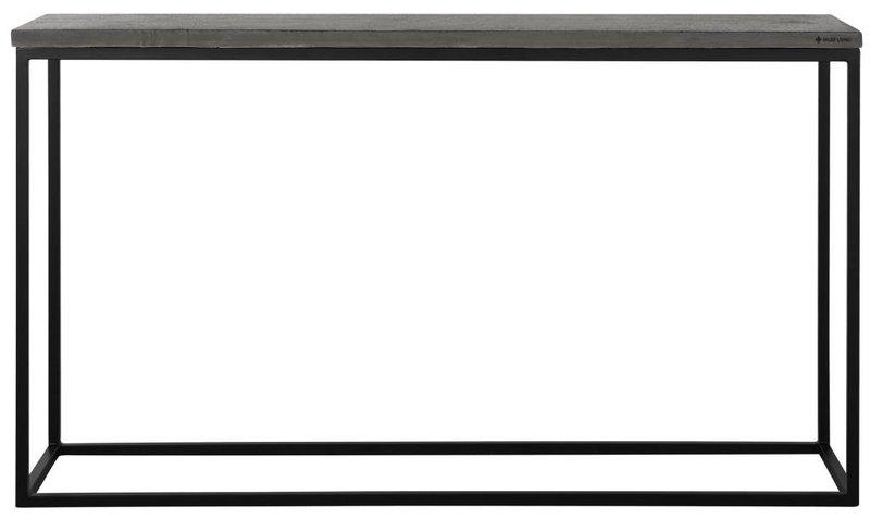 D-Bodhi Side table Mont Blanc, black bazalt