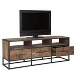 D-Bodhi TV meubel, 3 laden, 3 open vakken