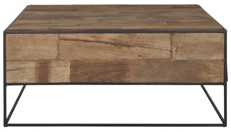 D-Bodhi Salontafel vierkant 35x80x80cm