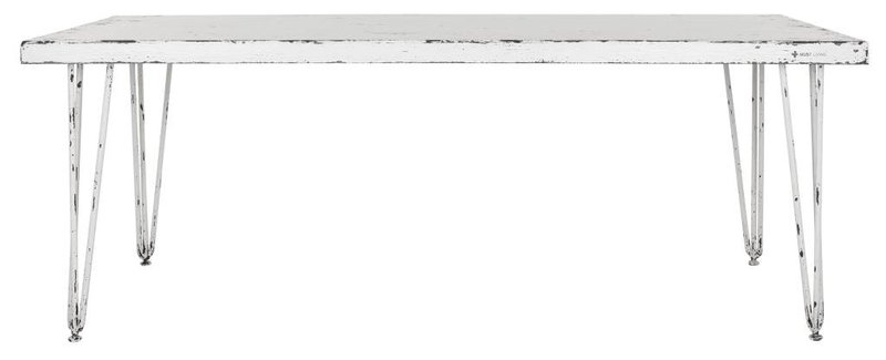 D-Bodhi Eettafel Snow White 78x200x100cm