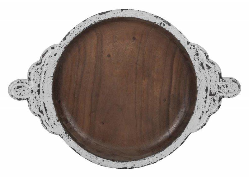 D-Bodhi Dienblad Medaillon, white