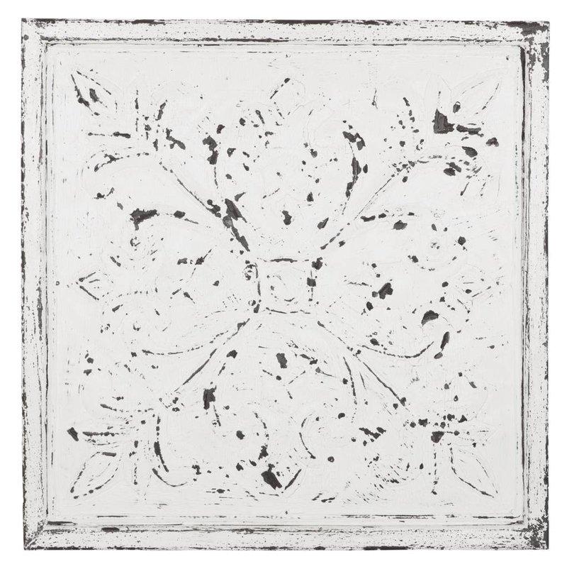 D-Bodhi Wall panel Chambord 67x67cm, white