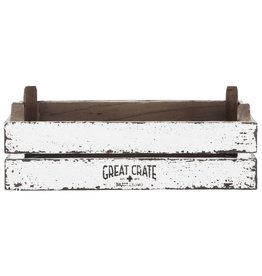 D-Bodhi Great Crate small, white