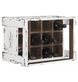 D-Bodhi Wine bottle crate Fabulous Wines, white