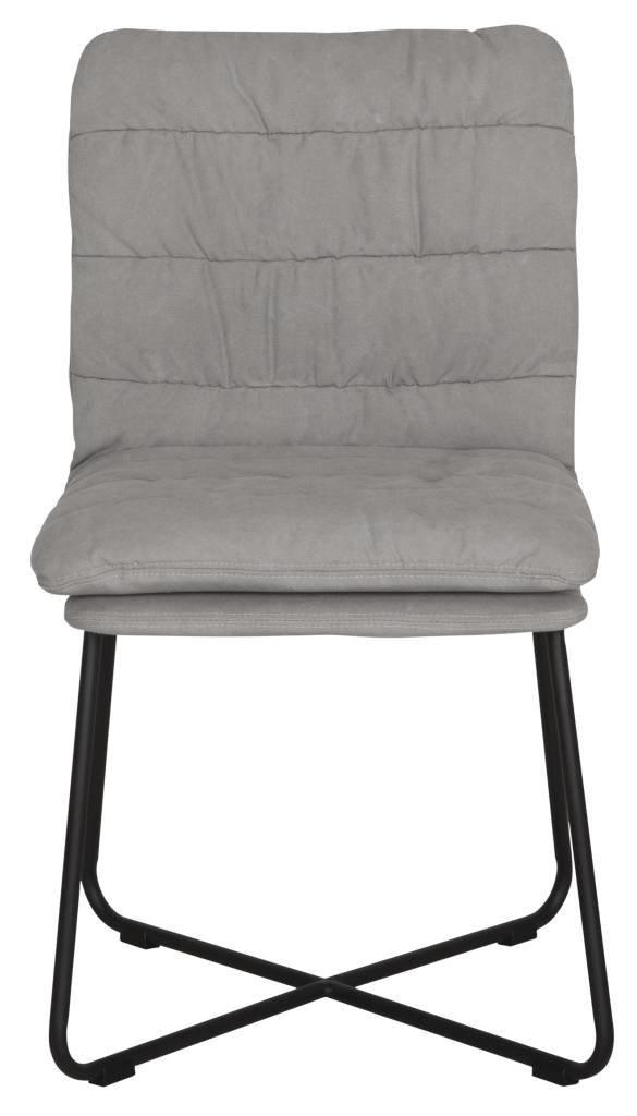D-Bodhi Stoel Stripe, stonewashed cotton grey