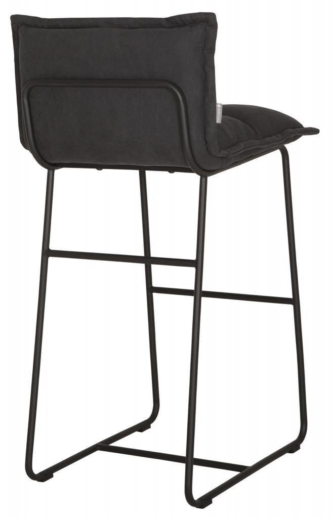 D-Bodhi Bar chair Cloud, stonewashed cotton charcoal