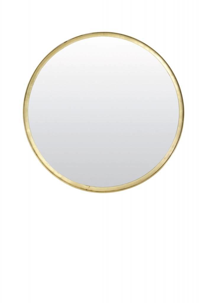 Light&Living Spiegel Ø50x4 cm BITA oud brons