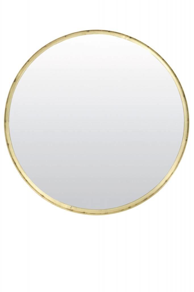 Light&Living Spiegel Ø60x4,5 cm BITA oud brons