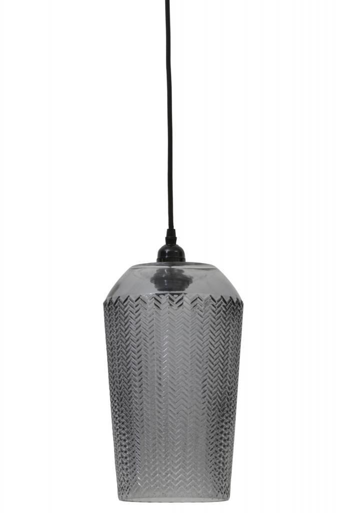 Light&Living Hanglamp Ø18,5x39 cm LORINA grijs