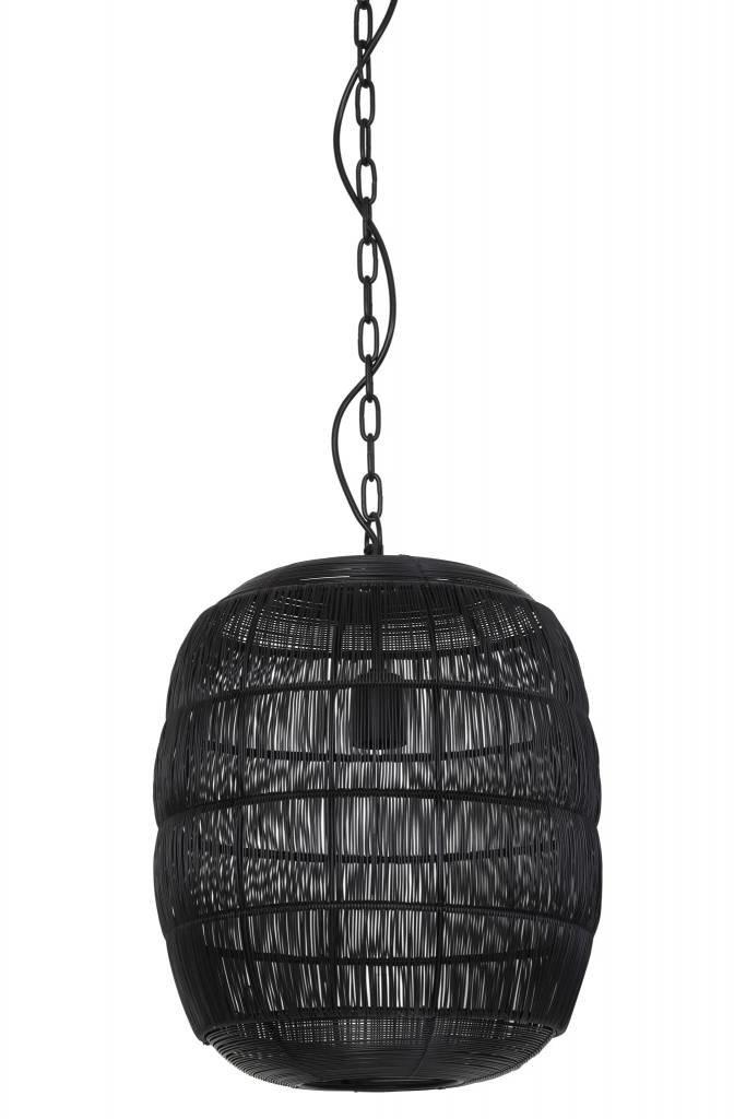 Light&Living Hanglamp Ø34,5x40 cm CARLA zwart