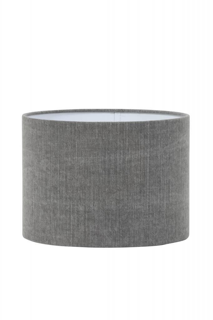 Light&Living Lampenschirm Zylinder 30-30-21 cm VINTAGE brume