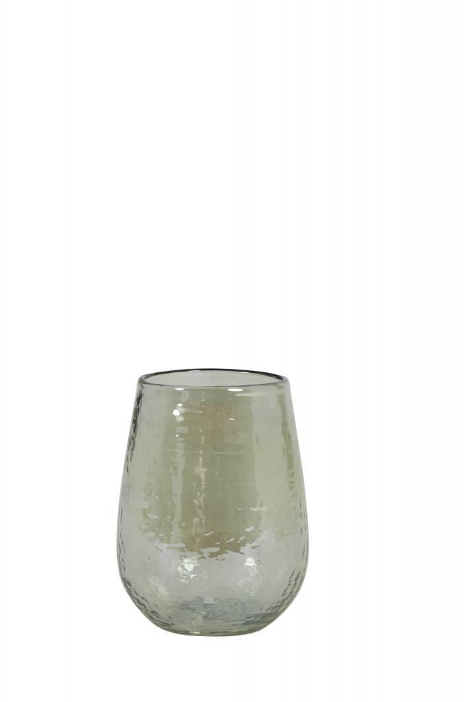 Light&Living Vase Ø9x11,5 cm BOTIN Glas olive Grün