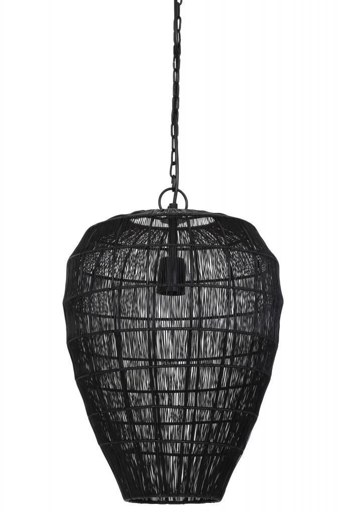 Light&Living Hanglamp Ø33x42,5 cm ANGELA zwart