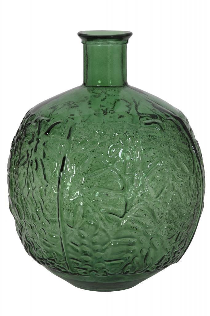 Light&Living Vaas Ø32x43 cm MENADO glas groen