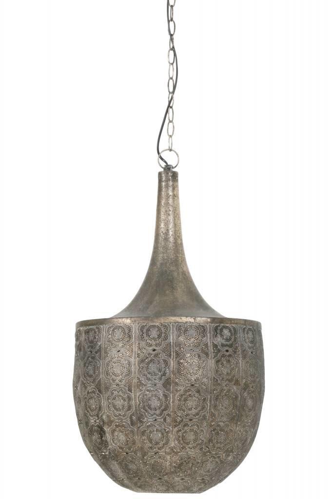 Light&Living Hanglamp Ø41x74 cm TANYA bruin goud