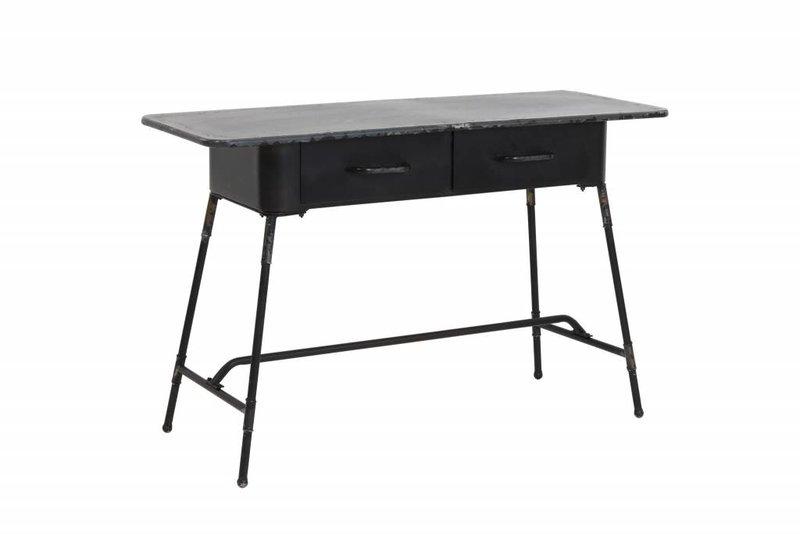 Light&Living Schreibtisch 120x45,5x75,5 cm CATARAMA antik schwarz