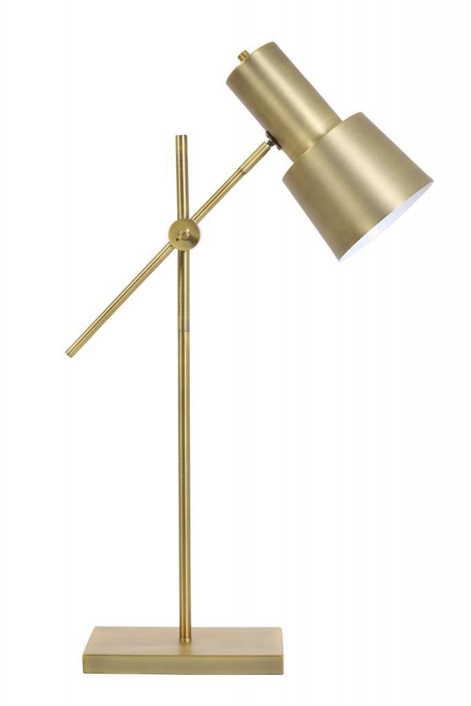 Light&Living Tafellamp 15x15x68-82 cm PRESTON antiek brons