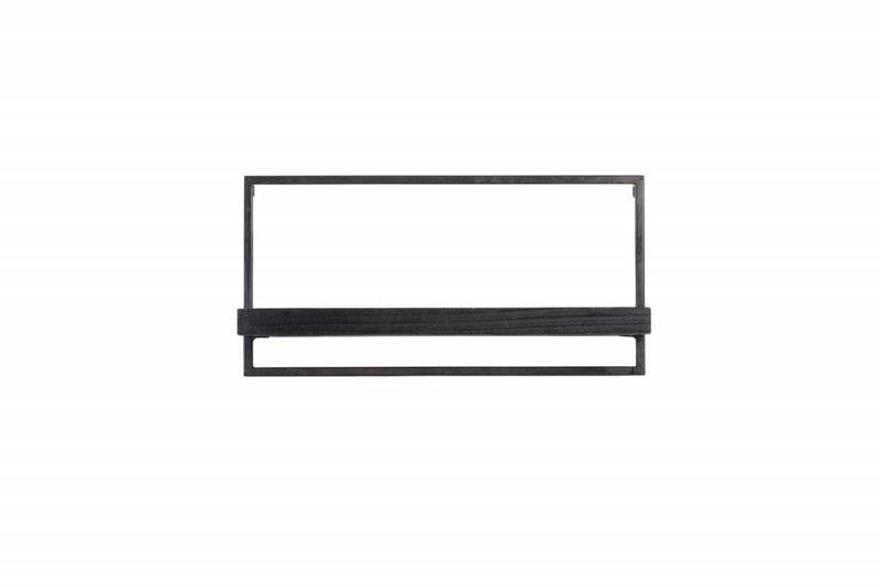 Light&Living Wandplank 30x15x60 cm MADDISON hout zwart