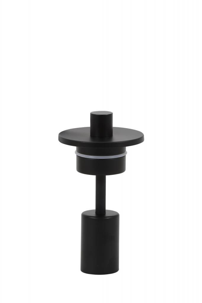 Light&Living Elektra voor vaas Ø9,5x18 cm POSSANDO mat zwart