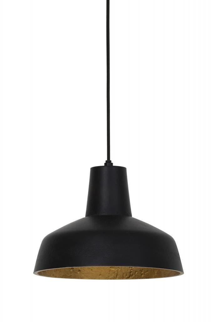Light&Living Hanglamp Ø26x20 cm SUMERU mat zwart-goud