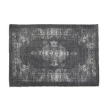 Light&Living Vloerkleed 230x160 cm OBAR donker grijs