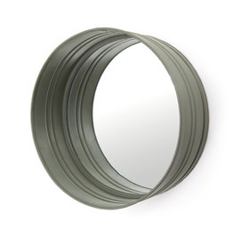 By-Boo Round mirror - green