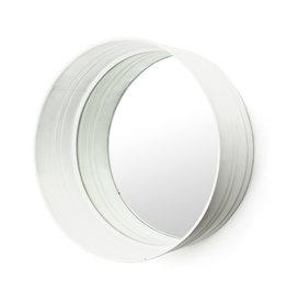 By-Boo Round mirror - white
