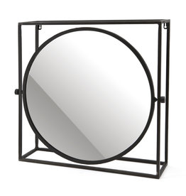 By-Boo Mirror in frame round