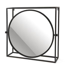 By-Boo Spiegel in Rahmen - runder