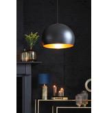 Light&Living Hanglamp Ø45x32,5 cm JAICEY mat zwart-goud