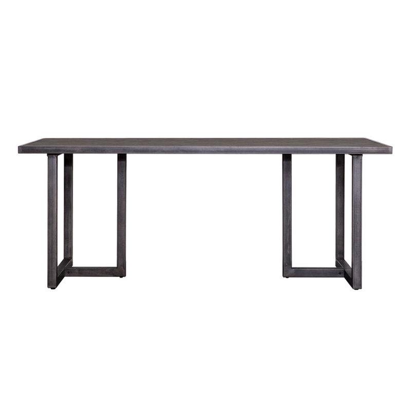 Eleonora Eettafel Hudson 160x90 - zwart