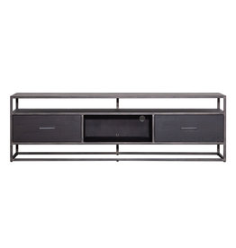 Eleonora TV meubel Hudson 185 cm - zwart